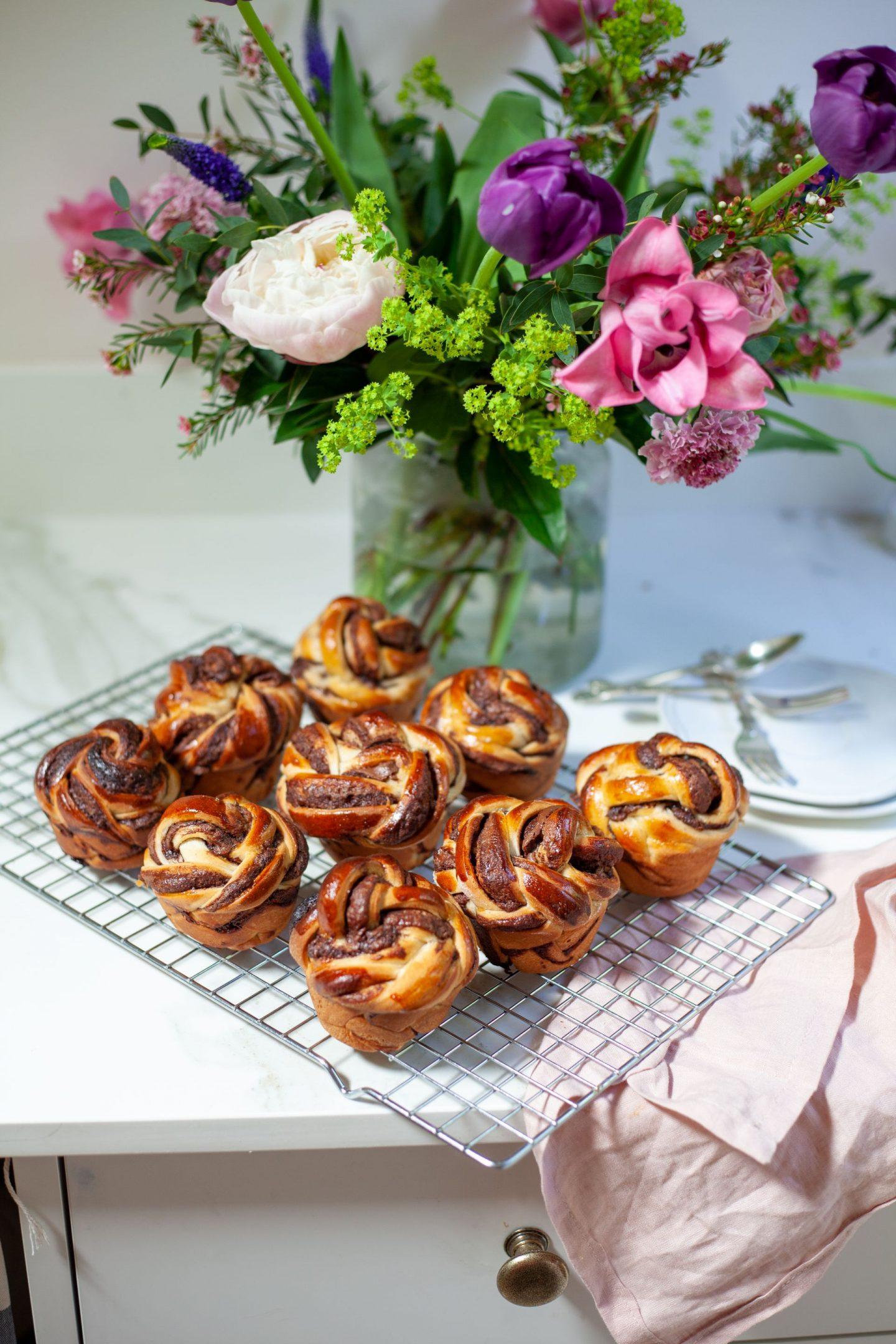 Nutella Swedish buns